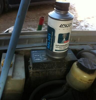 Промывка форсунок инжектора Nissan cefiro