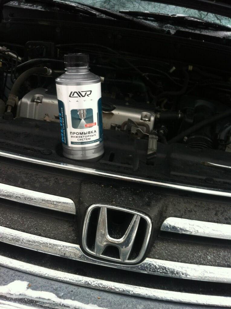 промывка инжектора на Honda CR-V