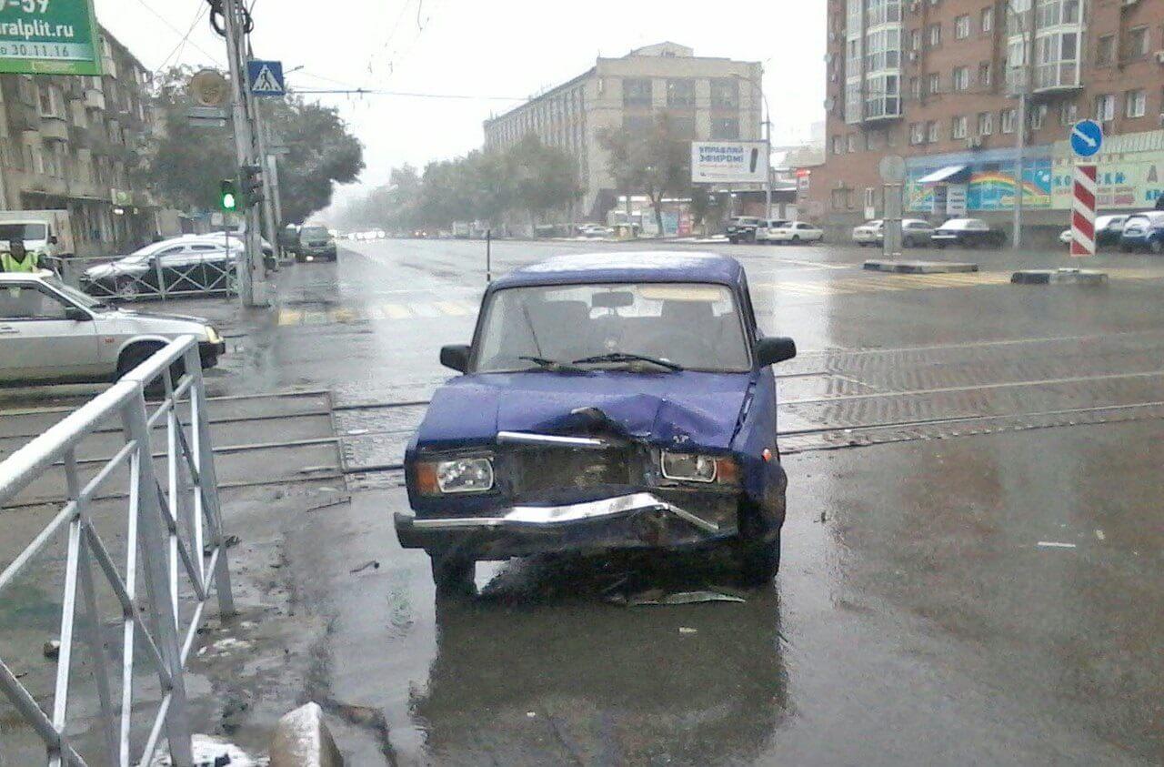 ДТП Кировский район Ваз 2106 и Chevrolet