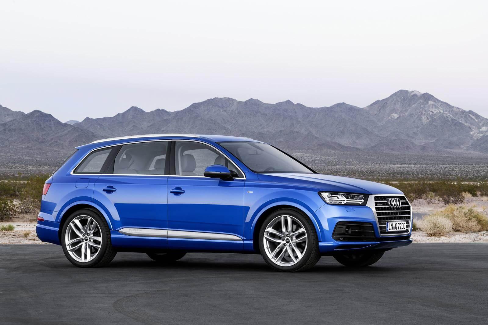 Краш тест Audi Q7 2015