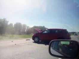 Авария на омской трассе