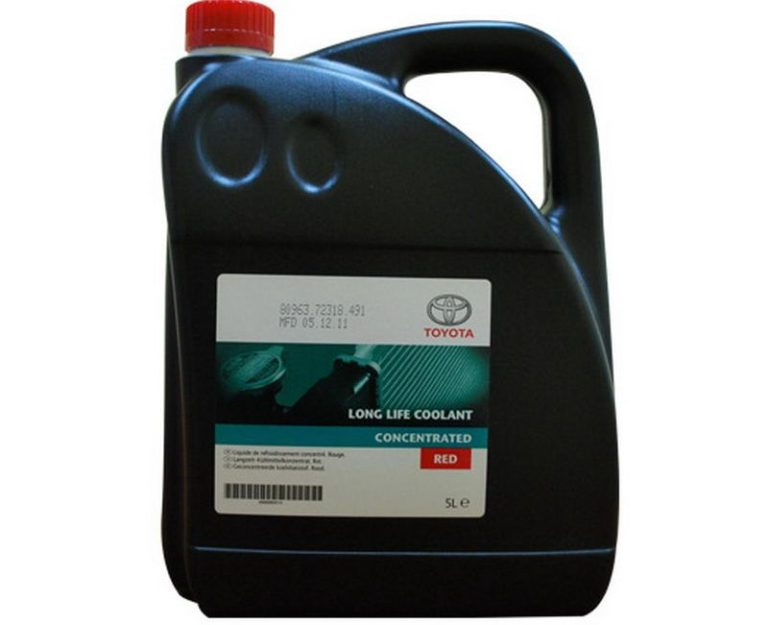 Toyota Long Life Coolant Red Concentrate 1L