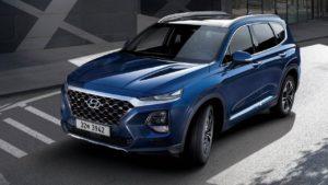 Hyundai Santa Fe 2019 внешний вид