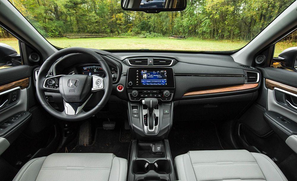 Honda CR-V 2019 салон